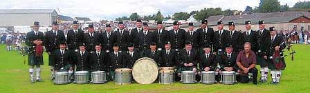 St Laurence O'Toole Pipe Band